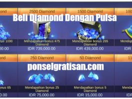 beli diamond mobile legends dengan pulsa