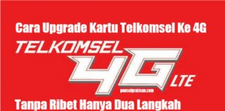 upgrade 4g telkomsel