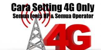 setting 4g only